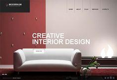 Creative Interior Wordpress Template