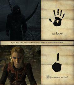 dark brotherhood - Google Search