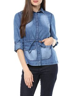 Check out what I found on the LimeRoad Shopping App! You'll love the Blue Denim Shirt. See it here http://www.limeroad.com/products/13671649?utm_source=10570b8bd1&utm_medium=android