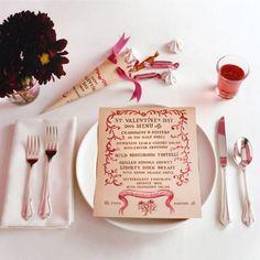 Galleria foto - La tavola di San Valentino: idee su come apparecchiarla Foto 13
