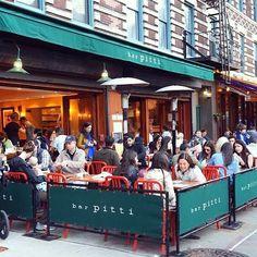 Al Fresco NYC - Bar Pitti
