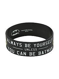 HOTTOPIC.COM - DC Comics Batman Be Yourself Rubber Bracelet