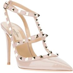 valentino rockstud blush pink - Google Search