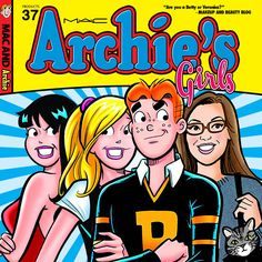 Be Betty AND Veronica With MAC Archie's Girls: The MAC Archie's Girls Collection for Spring 2013