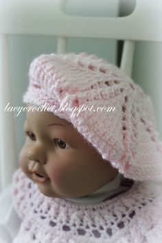 Until now I had only designed and crocheted baby beanies, but today I want to share something different.         It's a baby/...