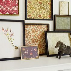 fabric in frames
