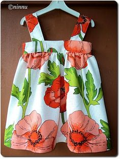 Cute wee sun dress top - tutorial in Finnish, looks easy enough to work out with the help of google translate... Swim Trunks, Swimsuit