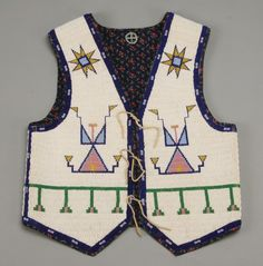 Native American Indian beaded child's vest