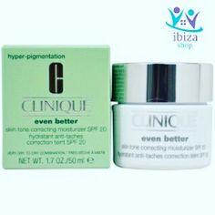 crema anti-manchas skin tone correcting moisturizer spf20  ( 25% DESCUENTO)