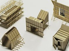 Best Ideas For Architecture and Modern Design : – Picture : – Description main. Home Design Decor, House Design, Interior Design, Home Decor, 3d Modelle, Arch Model, Architectural Elements, Architectural Models, Design Model