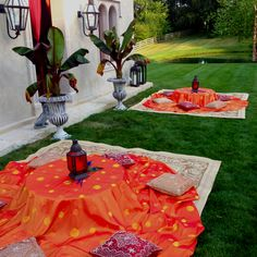 Moroccan themed party via Cameron Mitchell Catering.
