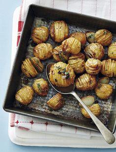 Comment réussir les pommes de terre à la suédoise (ou Hasselback)? - Châtelaine