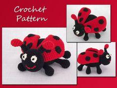 Crochet Pattern Amigurumi Pattern Ladybug Animal by LovelyBabyGift, $3.50