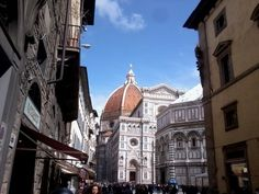 The impressive Cupola of the Florence Duomo