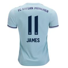 3eb644a8c Bayern Munchen 18/19 Away Men Soccer Jersey Personalized Name and Number -  zorrojersey James