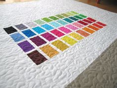swatch quilt - color samples
