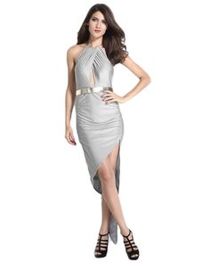 ef871365bc9 Online Loverlobby Polyester Silver Solid Bodycon Dress-6598-Silver  LL6598-Silver Buy in India - Makemyorders.com