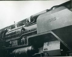 type: vintage sheet-fed gravureimage size: X very gooddate printed: 1934 spiral bound monographdescription: Image of the famous Nord Express Locomotive Man Ray, Agnes Martin, Art Of Man, Old Trains, Real Beauty, American Artists, Locomotive, Art World, Portrait Photographers