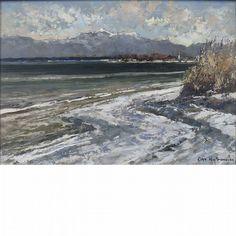 Otto Hellmeier German, 1908-1996 (i) Im Murnauer Moor