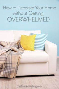 Easily overwhelmed with paint colors, fabric swatches, and all the pretties at HomeGoods? Don't miss these 5 essential action steps that will relieve decorating anxiety and help you create a cohesive and styled home.