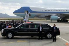Air Force One & The Beast Presidential Limousine