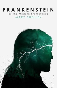 Image result for frankenstein by mary shelley book cover