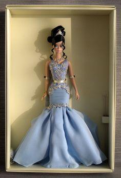 Beautiful Silkstone The Soiree Barbie | eBay