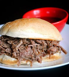 French Dip Sandwich - Slow Cooker Style