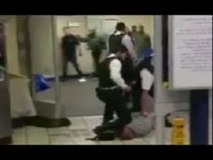 """Saturday night turned into a horror movie at London's Leytonstone underground station as an attacker slashed a person's throat while shouting """"this is for Sy..."""
