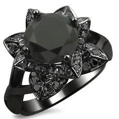 #blackdiamondgem Find out more about Black Diamond Engagement Rings. http://blackdiamondrising.com/whatareblackdiamonds/