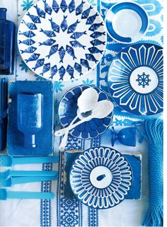 Any colour is nice as long as its blue ;)    Polly Wreford – Red Magazine, Aug 2011 « Sarah Kaye Blog