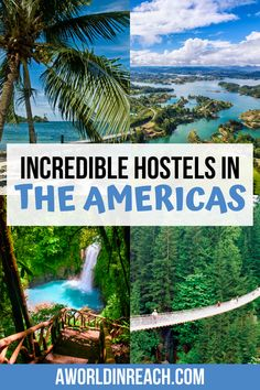 Staying in hostels is a fun way to keep lodging costs low when visiting traveling. This guide is full of reviews on some of the best hostels in North America, Central America, and South America. Check it out to find the perfect hostel for your trip! / best hostels in South America / unique hostels in South America / Central America's best hostels / where to stay in the Americas on a budget / budget-friendly hostels in North America / South America Travel / Central America Travel