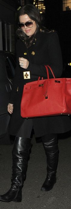 Red Tote Bag want everything she's wearing