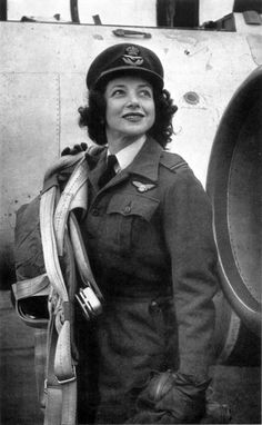 Mary Wilkins Ellis, a female ATA pilot. They were the first ever to receive equal pay for equal work in British history.  But the bias of male colleagues was harder to overcome. Some flat out refused to fly with or be trained by women pilots.