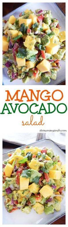 A filling lunch for two and a colorful paleo dish, this juicy Mango Avocado Salad will have everyone drooling for seconds!