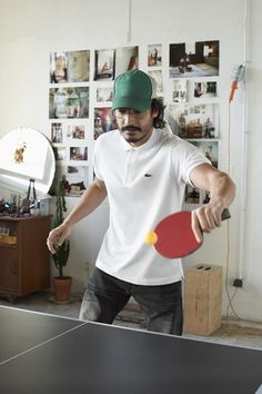 Ping pong in Polo Lacoste Clothing, Palladium Boots, Mens Style Guide, Polo T Shirts, Style Guides, Sportswear, Street Wear, Menswear, Sporty