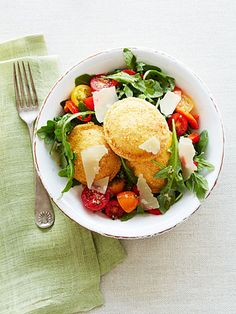Take frozen ravioli from everyday to gourmet! Try this recipe for Toasted Ravioli Salad.