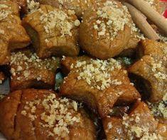 Μελομακάρονα χωρίς ζάχαρη …σαν ζαχαροπλαστείου! | Sokolatomania Sokolatomania Eat Greek, Greek Desserts, Sweet Recipes, French Toast, Brunch, Sweets, Homemade, Cookies, Breakfast