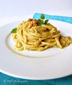 Spaghetti al pesto di carciofi