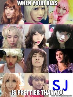 Finally Yesung makes SuJu crossdressing collection complete | allkpop Meme Center