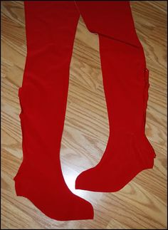 crash culture: Costuming: Boot Cover Tutorial *updated*