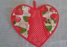 Pegador de panela coração