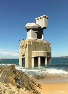 El Edificio del Tigre - imbecil.com - La imbecilidad es un grado Bilbao, Nature, Travel, Degree Of A Polynomial, Buildings, Beach, Naturaleza, Viajes, Traveling
