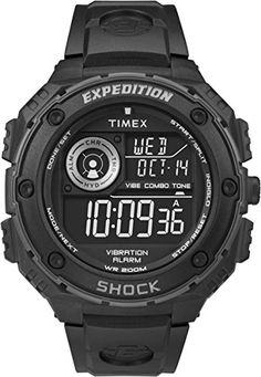 timex men s t21942 dress gold tone stainless steel expansion band timex expedition vibe shock digital watch for men vibration alarm to view further for