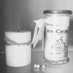 Cute Image of JewelCandles and the results!  #JewelCandle #Jewel #Candle #Jewellery #Jewelry #Ring #Earrings #Candle #Cupcake