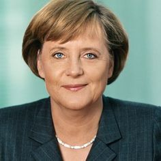 Angela Merkel: b. 1954; Angela Merkel is a German politician who has been Chancellor of Germany since 2005, and leader of Christian Democratic Union (CDU) since 2000, the 1st woman to hold either.  Merkel was President of the European Council and chaired the G8, the 2nd woman to do so. She has been described as the de facto leader of the EU, and was ranked as the world's 2nd most powerful person by Forbes in 2012, the highest ever achieved by a woman.