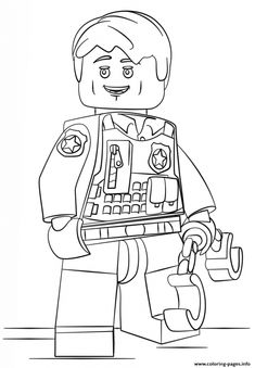 lego undercover city coloring pages printable and coloring book to print for free. Find more coloring pages online for kids and adults of lego undercover city coloring pages to print.