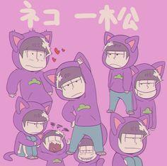 Read 1 -OSOMATSU 💖 from the story Imágenes de Osomatsu-san ~ shippeos y mas ~ by (Jimena with reads. Osomatsu San Doujinshi, Gakuen Babysitters, Gekkan Shoujo Nozaki Kun, Ichimatsu, All Anime, Anime Boys, Naive, Neko, Photo Book