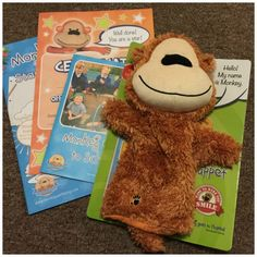 Monkey Wellbeing helped me with starting school - have you seen him?