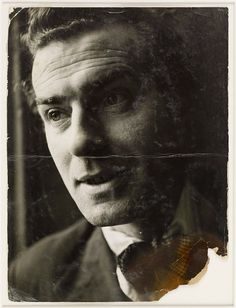 Portrait of Scottish painter and artist Robert Colquhoun partner of Robert MacBryde Soho London early 1950s Together they were known as 'The Two...